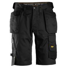 AllroundWork, Stetch shorts i loose fit med hölsterfickor